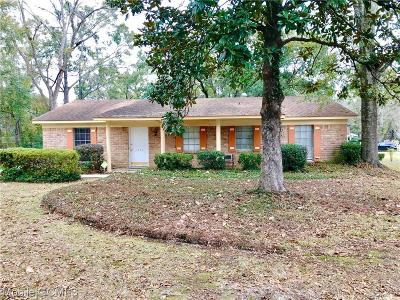 Mobile County Single Family Home For Sale: 1605 Andover Boulevard