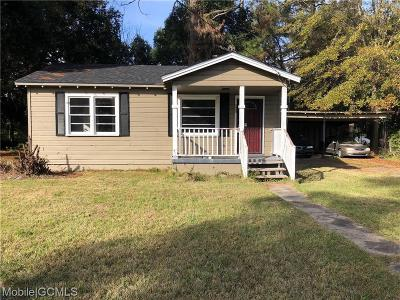 Mobile County Single Family Home For Sale: 2008 Belle Rose Drive