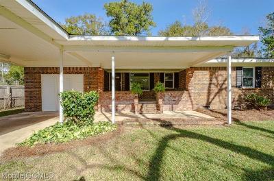 Theodore Single Family Home For Sale: 3810 Schwartz Lane W