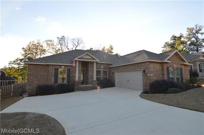 Saraland Single Family Home For Sale: 3383 Woodlands Drive