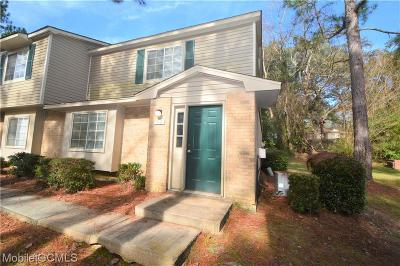 Mobile County Condo/Townhouse For Sale: 6701 Dickens Ferry Road #52