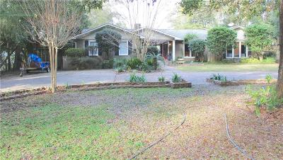 Mobile County Single Family Home For Sale: 2290 Burgett Road