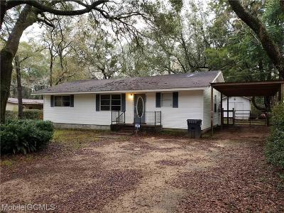 Theodore Single Family Home For Sale: 6550 Hayfield Road