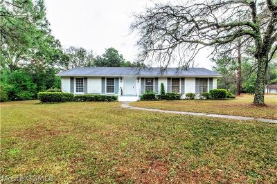 Mobile County Single Family Home For Sale: 950 Wendover Road