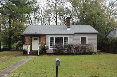 Mobile County Single Family Home For Sale: 1 Sherwood Drive