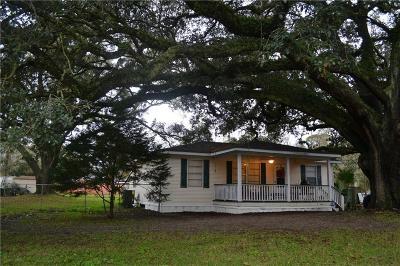 Theodore Single Family Home For Sale: 6500 Carol Plantation Road
