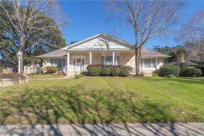 Mobile County Single Family Home For Sale: 1221 Westbury Drive