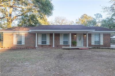 Mobile Single Family Home For Sale: 3420 Ching Dairy Road