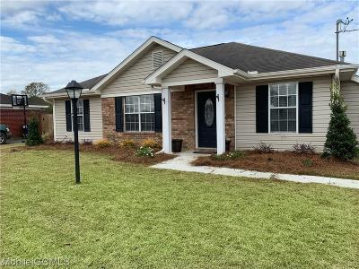 Mobile County Single Family Home For Sale: 13270 Wages Court