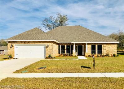 Mobile County Single Family Home For Sale: 1313 Sierra Estates Drive