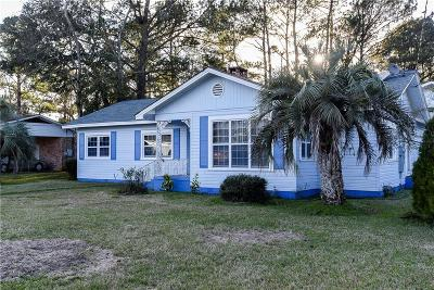 Bayou La Batre Single Family Home For Sale: 13960 Wintzell Avenue S