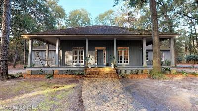 Mobile Single Family Home For Sale: 2332 Venetia Road