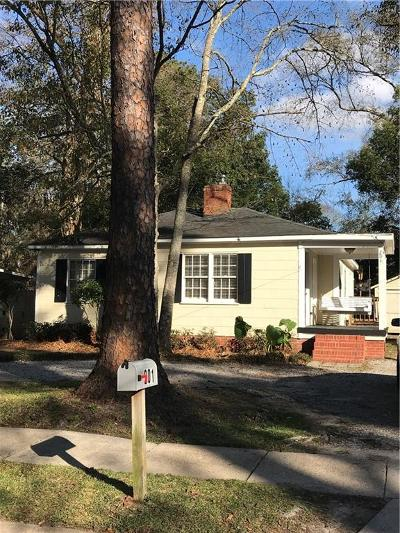 Mobile Single Family Home For Sale: 201 Seminole Street