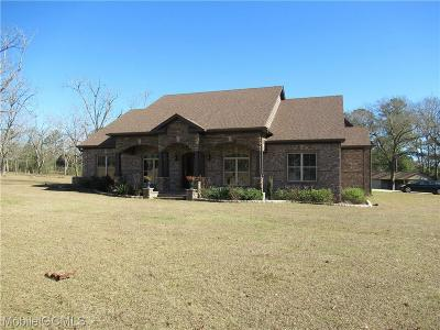 Citronelle Single Family Home For Sale: 18850 6th Street