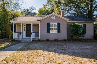 Mobile County Single Family Home For Sale: 27 Hathaway Road S