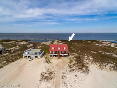 Dauphin Island Single Family Home For Sale: 2504 Bienville Boulevard