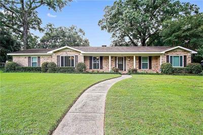 Mobile Single Family Home For Sale: 4101 Ashwood Drive