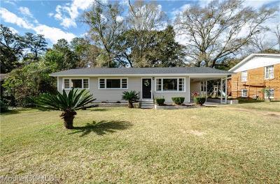 Mobile Single Family Home For Sale: 1225 Stevens Lane