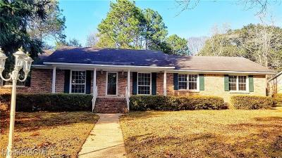 Mobile Single Family Home For Sale: 5808 Summit Avenue