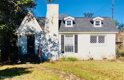 Mobile County Single Family Home For Sale: 2150 Ashland Place Avenue