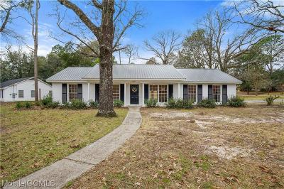 Mobile Single Family Home For Sale: 5851 Shadesview Drive