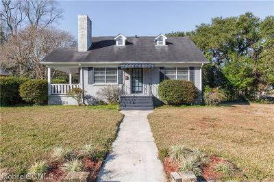 Mobile Single Family Home For Sale: 300 Thornhill Circle