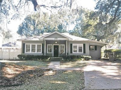 Mobile County Single Family Home For Sale: 254 Park Avenue