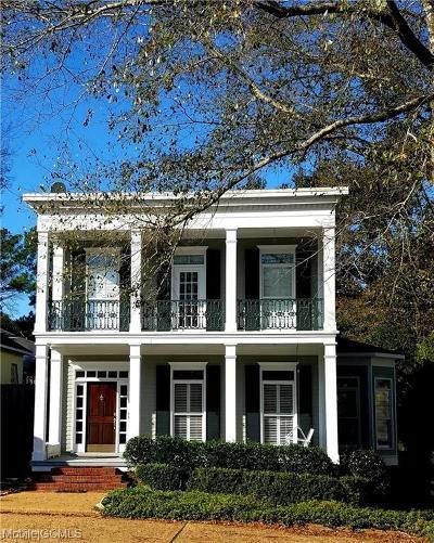 Mobile Single Family Home For Sale: 1000 Hampton Gate