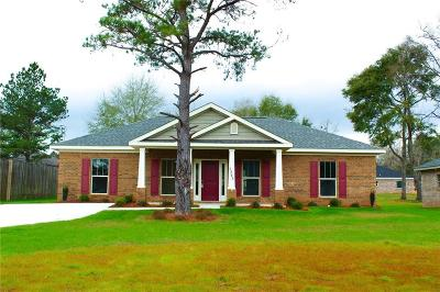 Mobile County Single Family Home For Sale: 7345 School House Lane