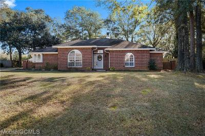 Mobile Single Family Home For Sale: 2381 Carrington Court