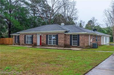 Mobile County Single Family Home For Sale: 7001 Rose Ching
