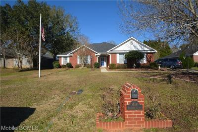 Mobile County Single Family Home For Sale: 9556 Bridgeton Court