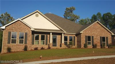 Mobile County Single Family Home For Sale: 7854 Heritage Lane