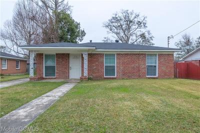 Mobile County Single Family Home For Sale: 2070 Tucker Street