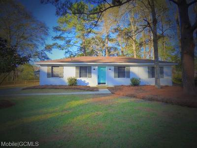 Mobile County Single Family Home For Sale: 28 Bethel Forest Drive S