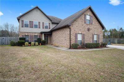 Mobile County Single Family Home For Sale: 9667 Taylor Pointe Court