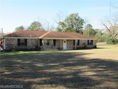 Mobile County Single Family Home For Sale: 18155 Third Street