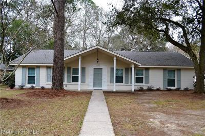 Mobile Single Family Home For Sale: 1322 Lucerne Drive