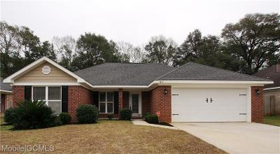 Mobile Single Family Home For Sale: 3280 Franklin Court