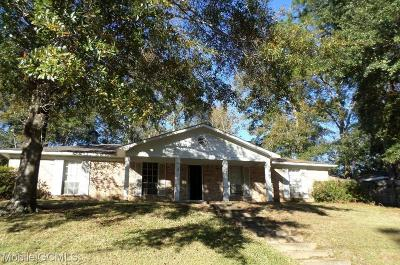 Mobile Single Family Home For Sale: 5356 Cross Creek Drive