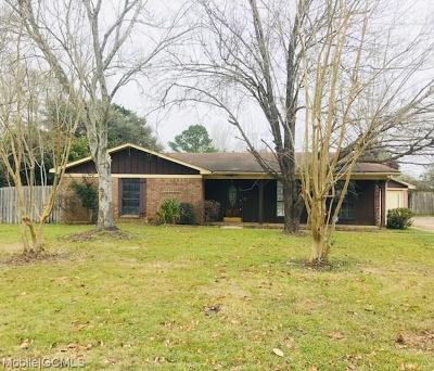 Mobile Single Family Home For Sale: 2779 Meadowview Drive