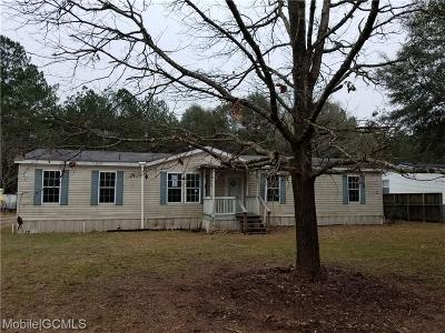 Mobile County Single Family Home For Sale: 6930 McCrary Woods Drive