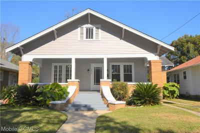 Mobile Single Family Home For Sale: 1404 Old Shell Road
