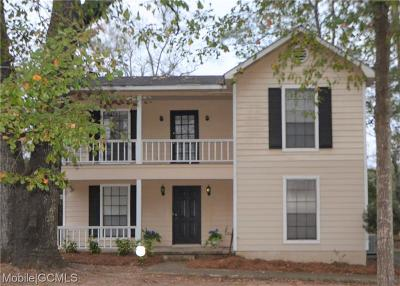 Mobile Single Family Home For Sale: 5308 Janekyn Drive