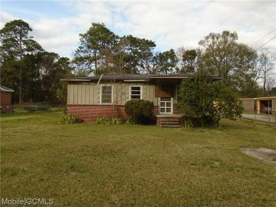 Mobile Single Family Home For Sale: 1428 Cedar Park Drive