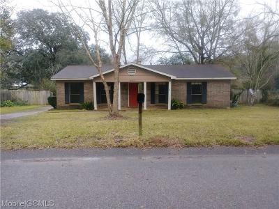 Theodore Single Family Home For Sale: 6445 McAdams Drive E