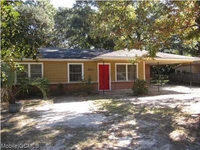 Mobile County Single Family Home For Sale: 3003 Jacobs Drive