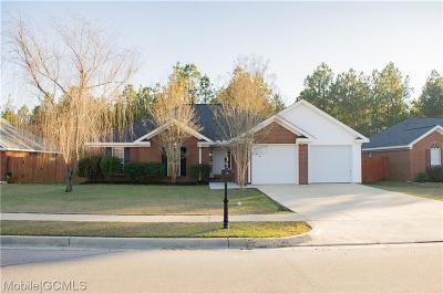 Mobile Single Family Home For Sale: 9977 Peyton Drive S