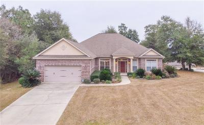 Saraland Single Family Home For Sale: 8074 Carolina Court W