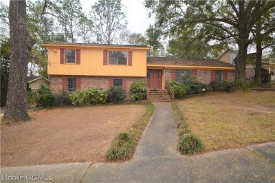 Mobile County Single Family Home For Sale: 6405 St Thomas Court